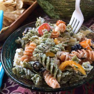Veg-Pep Pasta Salad