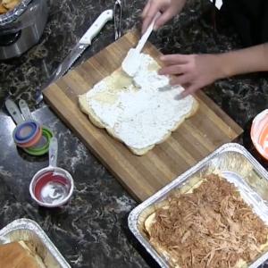 Flavorful Onion Dip Pork Sliders