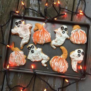Gnarly Halloween Crescents