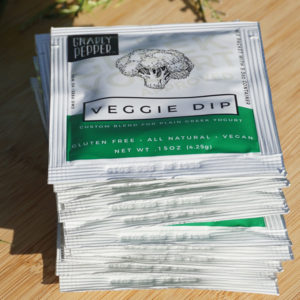 12pk Veggie Dip Tear Packets