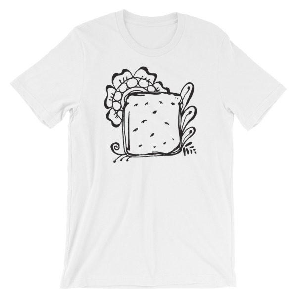 gnarly, pepper, bread, like mayo, tee, tshirt, t-shirt, original, drawing, henna, sara,