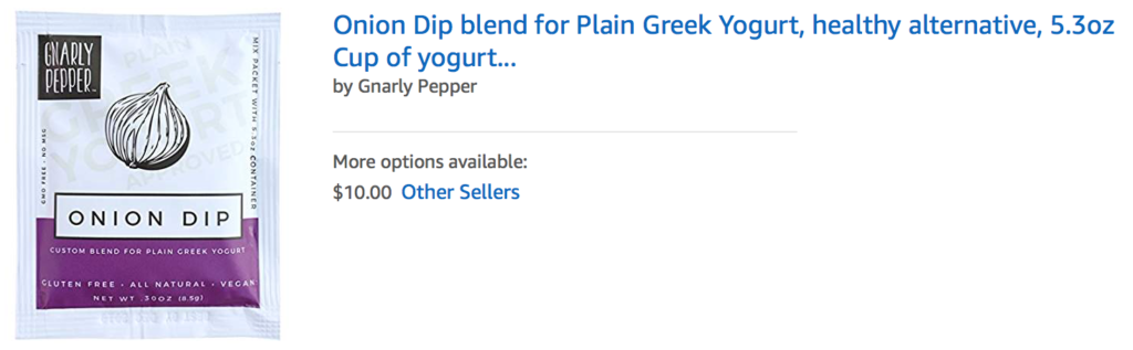 plain greek yogurt, dip, mix, blend, spice, seasonings, onion dip, party dip,