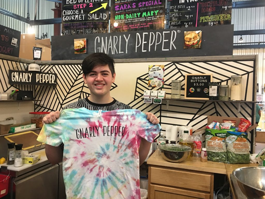 tie dye, cedar rapids, iowa, newbo city market, gnarly pepper, local, t-shirts, unique