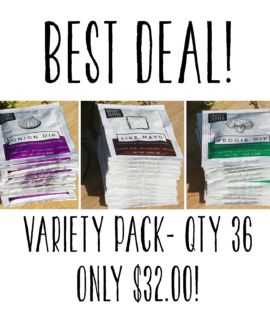 Variety Pack – QTY 36