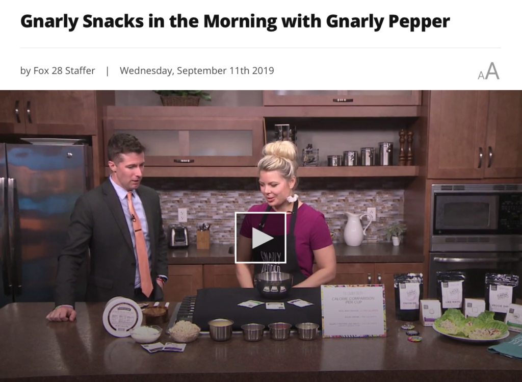fox 28, gnarly pepper, newbo, morning, cedar rapids, market, no mayo